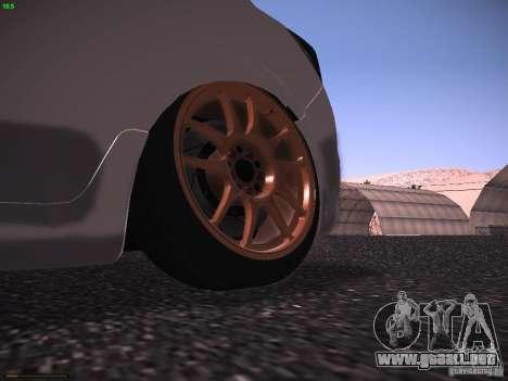 Vauxhall Astra VXR Tuned para la visión correcta GTA San Andreas