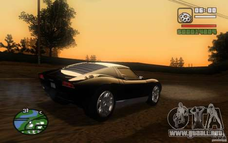 Lamborghini Miura Concept para visión interna GTA San Andreas