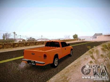 Dodge Ram 1500 Dacota para la visión correcta GTA San Andreas