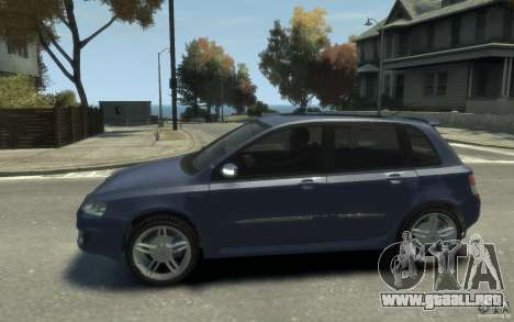 Fiat Stilo Sporting 2009 para GTA 4 left