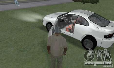 Toyota Celica GT4 2000 para GTA San Andreas vista hacia atrás