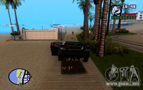 ENBSeries by VadimSpiridonov para GTA San Andreas octavo de pantalla