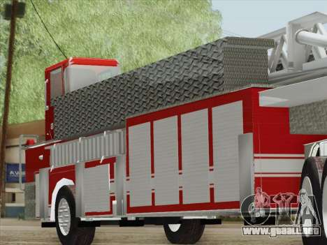 Pierce Arrow XT LAFD Tiller Ladder Trailer para GTA San Andreas