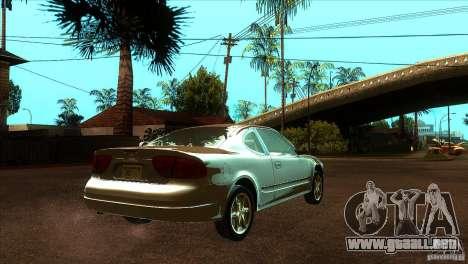 Oldsmobile Alero 2003 para la visión correcta GTA San Andreas
