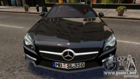Mercedes-Benz SL 350 2013 v1.0 para GTA 4 vista interior