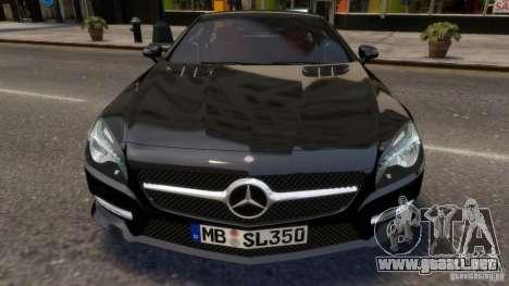 Mercedes-Benz SL 350 2013 v1.0 para GTA 4 vista interior