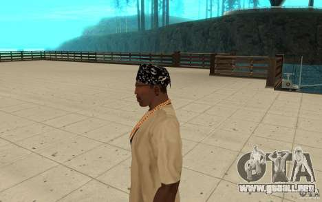 Aptitudes de Bandana para GTA San Andreas segunda pantalla