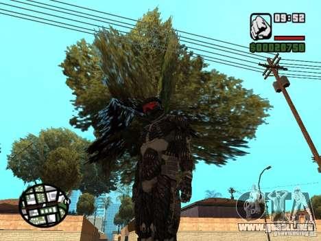 Crysis Nano Suit para GTA San Andreas segunda pantalla