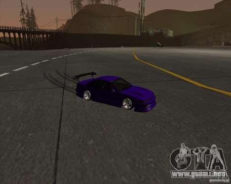 Nissan Silvia S13 Nismo tuned para visión interna GTA San Andreas