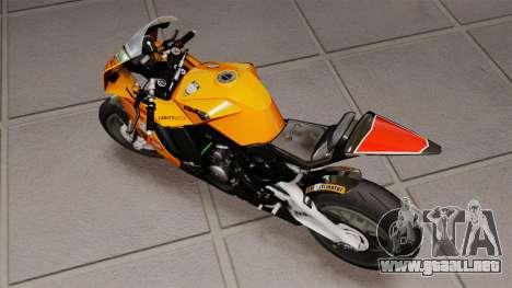 KTM RC8 R para GTA 4