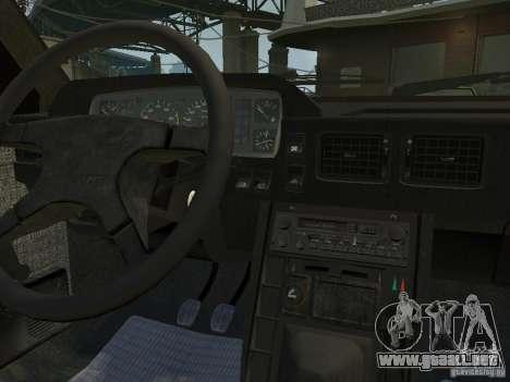 FSO Polonez para GTA 4 vista hacia atrás