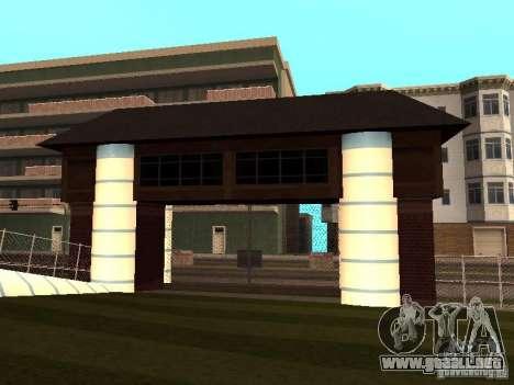 Villa en San Fierro para GTA San Andreas tercera pantalla