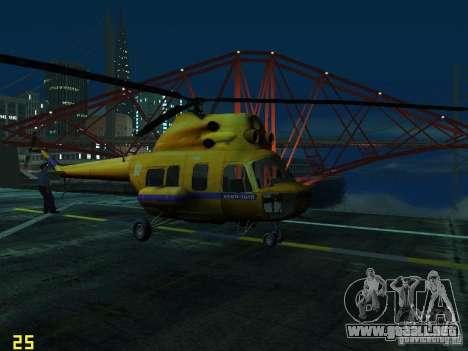 Policía mi-2 para GTA San Andreas