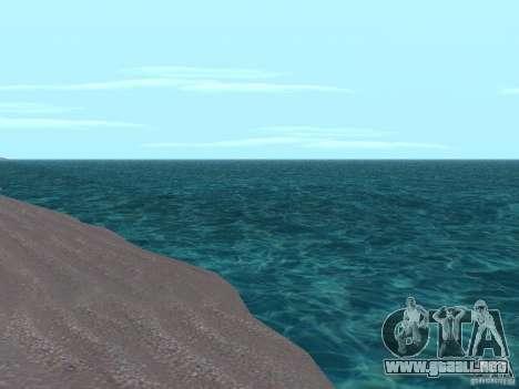 Nuevas texturas agua y humo para GTA San Andreas segunda pantalla