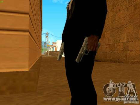 Five-Seven MW3 para GTA San Andreas tercera pantalla