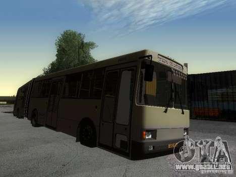 Laz-А291 para la visión correcta GTA San Andreas