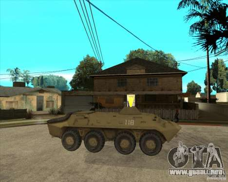 La APC de l. a. t. s. k. e. R para la visión correcta GTA San Andreas