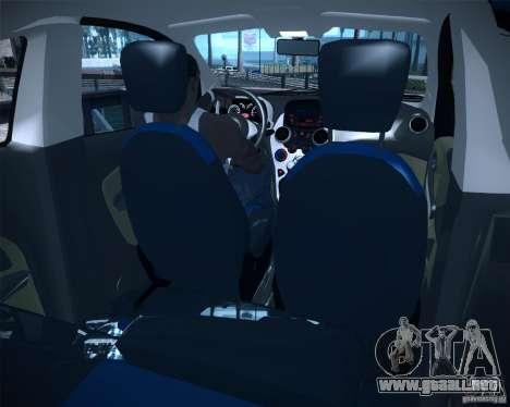 Ford Ka 2011 para GTA San Andreas vista posterior izquierda