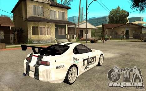 Toyota Supra MK-4 para la visión correcta GTA San Andreas