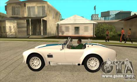 AC Shelby Cobra 427 1965 para GTA San Andreas left