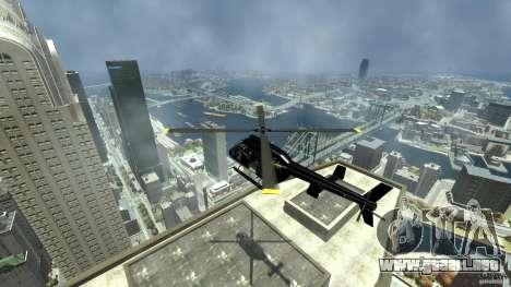 Helicopter Generation-GTA para GTA 4 vista interior