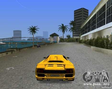 Lamborghini Diablo SV para GTA Vice City left