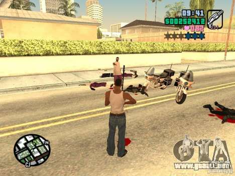 Vice City Hud para GTA San Andreas sexta pantalla