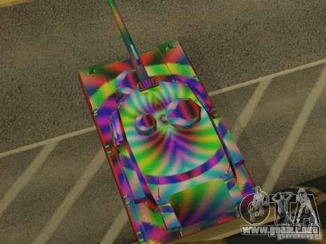 Un tanque de color alegre para la visión correcta GTA San Andreas