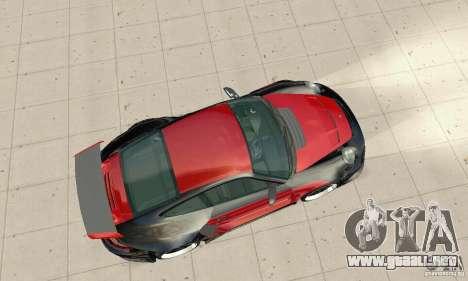 Porsche 911 GT2 NFS Undercover para la visión correcta GTA San Andreas