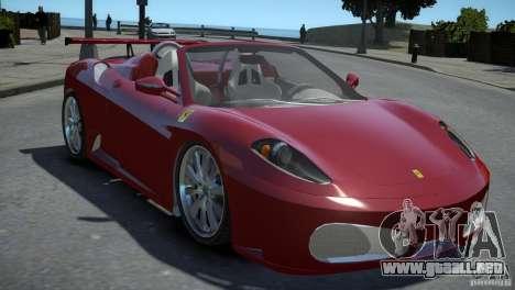 Ferrari F430 Spider para GTA 4 visión correcta