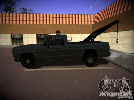 Camión de remolque Sadler para GTA San Andreas left
