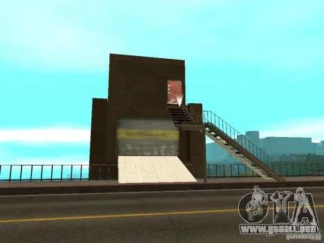 Puente rojo-ascensor para GTA San Andreas