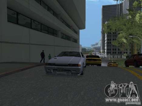 Elegy HD para GTA San Andreas vista posterior izquierda