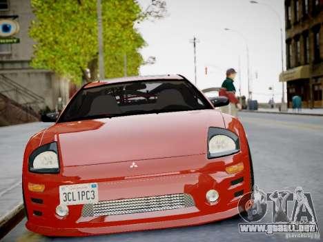 Mitsubishi Eclipse GT-S v1.0 para GTA 4 vista hacia atrás