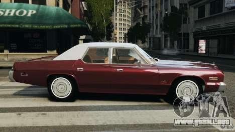 Dodge Monaco 1974 v1.0 para GTA 4 left