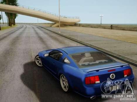 Ford Mustang Twin Turbo para visión interna GTA San Andreas