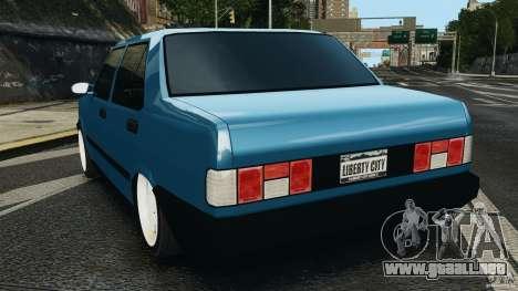 Tofas Dogan SLX EmreAKIN Edition para GTA 4 Vista posterior izquierda