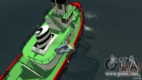 TUG Texture and Handling para GTA 4 vista interior