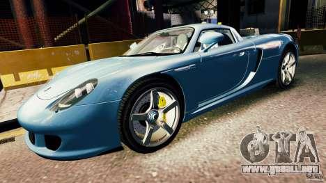 Porsche Carrera GT para GTA 4