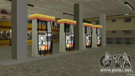 Shell Station para GTA Vice City tercera pantalla
