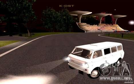 ZAZ 970 para GTA San Andreas vista posterior izquierda
