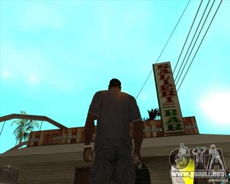 Salierys Bar para GTA San Andreas segunda pantalla