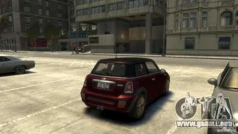 Mini John Cooper Works 2009 para GTA 4 visión correcta