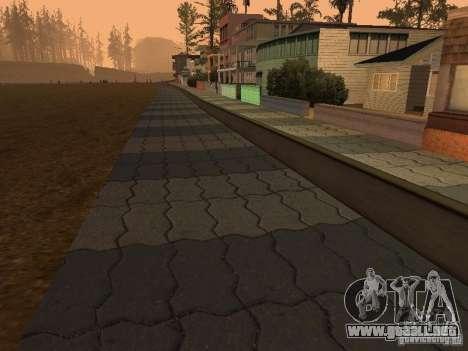 HD Santa Maria Beach para GTA San Andreas segunda pantalla