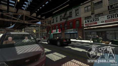 Puglia Pizza in Brook para GTA 4 tercera pantalla