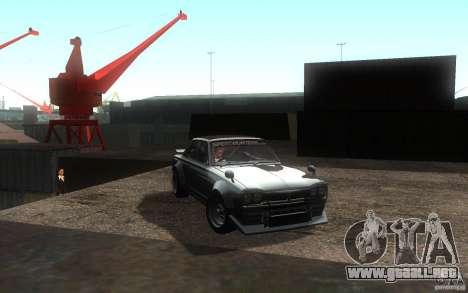 Nissan 2000GTR V2 para la visión correcta GTA San Andreas