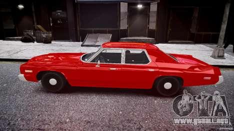 Dodge Monaco 1974 stok rims para GTA 4 left