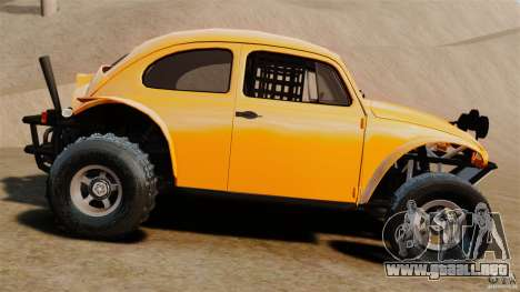 Volkswagen Fusca Buggy 1963 para GTA 4 left