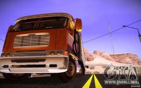 Freightliner Argosy para la visión correcta GTA San Andreas