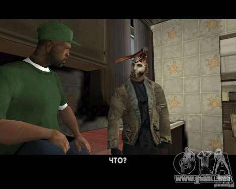 Jason Voorhees para GTA San Andreas novena de pantalla